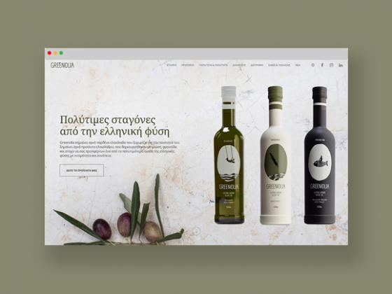 Mdesigners-greenolia-website