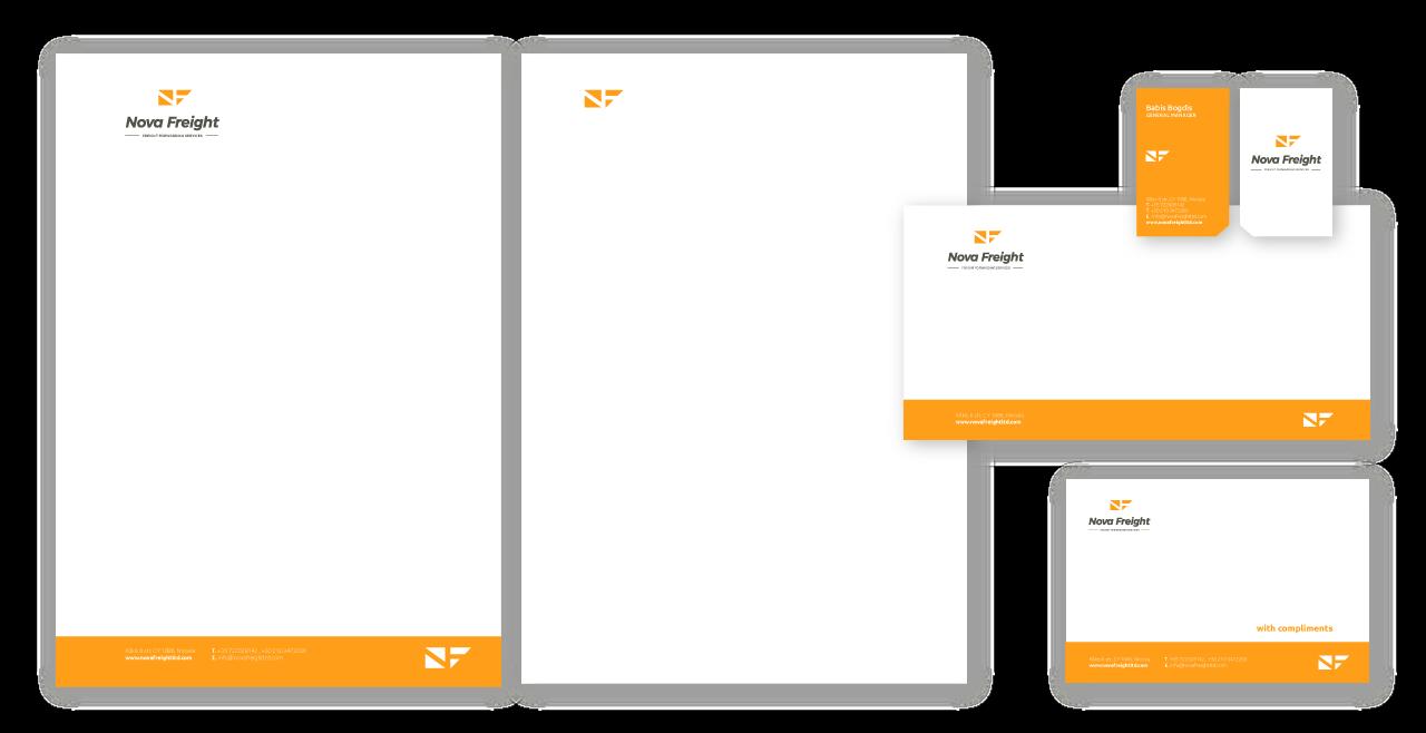 Mdesigners-NovaFreight-Branding-Stationary