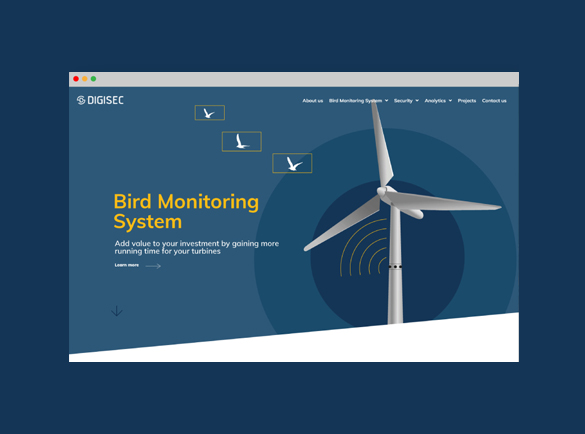 Mdesigners-digisec-webdesign-homepage-bird-monitoring-system-feature-image